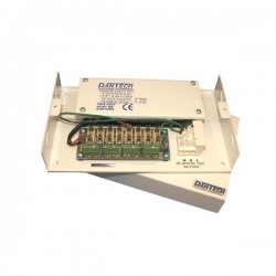 12V DC 8 x 0.5 Amp Fused Outbox Power Supply