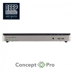 Concept Pro Network Recorder 8MP UHD 16 Channel