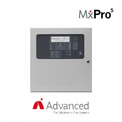 Advanced Electronics MxPro 5 1-4 Loop Addressable Panel - Apollo/Hochiki Protocol (Extended Enclosure)