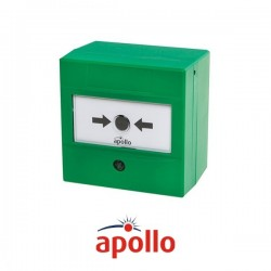 Dual Switch Manual Call Point (Green)
