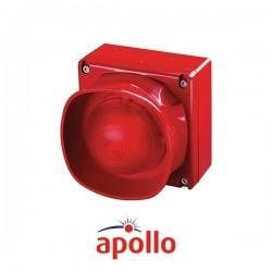 Weatherproof Multi-Tone Open-Area Sounder Indicator with Isolator (Red)