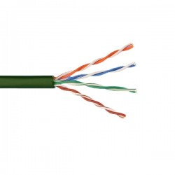 CAT5 Low Smoke Zero Halogen 305 Meters Green Cable