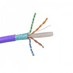 CAT5 Low Smoke Zero Halogen 305 Meters Purple Cable