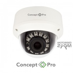 Concept Pro 4MP IP Motorised IR External Dome Camera