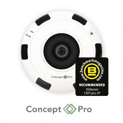 Concept Pro 6MP IP Fisheye Camera