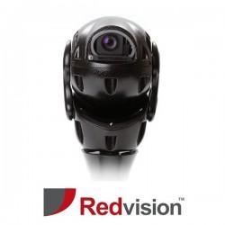 X-Series™ Rugged IP HD 1MP 30x PTZ with IR,White Light & Wiper CCTV Camera (Black)