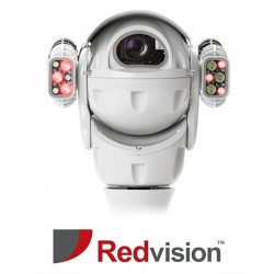X-Series™ Ruggedized Analogue 20x with Infrared & Wiper Light Grey CCTV Camera