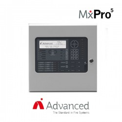 Advanced Electronics MxPro 5 1 Loop Addressable Panel - Apollo/Hochiki Protocol (Large, Deep Enclosure)