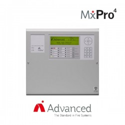 Advanced Electronics MxPro 4 1 Loop Addressable Panel - Apollo/Hochiki Protocol (Inc Lockable Hinged Door)