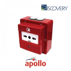 Apollo Discovery Marine Waterproof Manual Call Point with Isolator (Red)