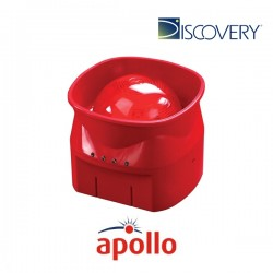 Discovery Open-Area Voice Sounder Visual Indicator (Red)