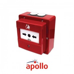 Apollo Waterproof Addressable Manual Call Point Red