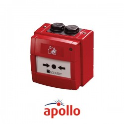 Apollo Weatherproof Manual Call Point Red