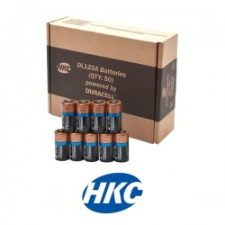 3v Lithium Duracell Batteries (Box of 50)