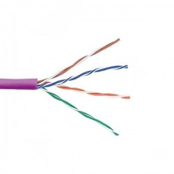 CAT5E 305 Meters U/UTP Violet Cable