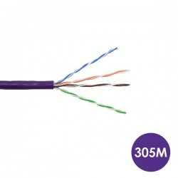 CAT5 305 Meters Purple Cable