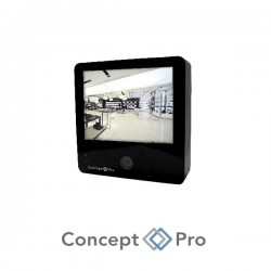 "Concept Pro 10"" IP Public View Black Monitor"