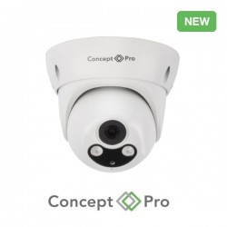 Concept Pro 4MP IP Motorised Lens Turret Camera