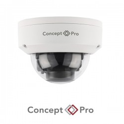 Concept Pro Lite 2MP AHD Fixed Lens Compact Vandal Dome Camera
