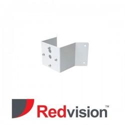 X-Series™ Ruggedized CCTV Camera Extended Corner Mount Adapter (Black)