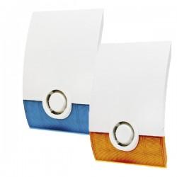 RSI Outdoor Siren w/Strobe (blue or orange) + Batteries