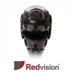 X-Series™ Rugged IP HD 2MP 30x PTZ with IR,White Light & Wiper CCTV Camera (Black)