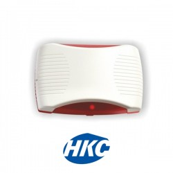 Wired Internal Echo Siren with Red Flash