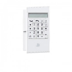 Alpha Keypad with Built-in Badge Reader + Batteries