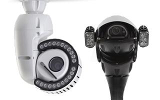 Redvision Analogue CCTV PTZ & Dome CCCTV Cameras