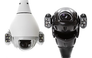 Redivision IP PTZ and Dome CCTV Cameras