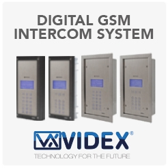 Digital GSM Intercom System