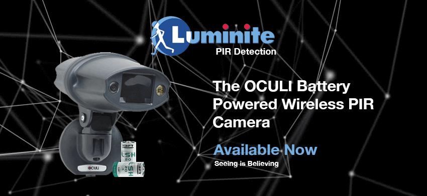 Go to Oculi PIR Battery Powered Camera