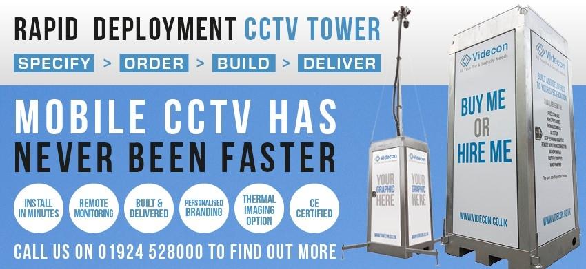 Rapid Deployment CCTV Tower