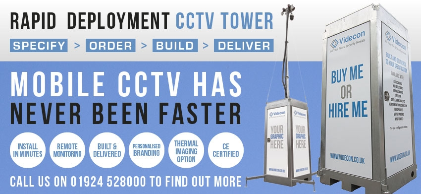 Rapid Deployment CCTV Tower