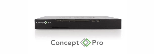 Concept Pro Lite 4,8, 16 and 32 Channel Recorders